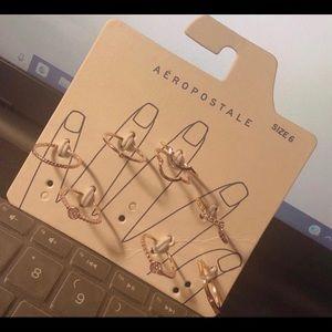 Aeropostale Rings Pack